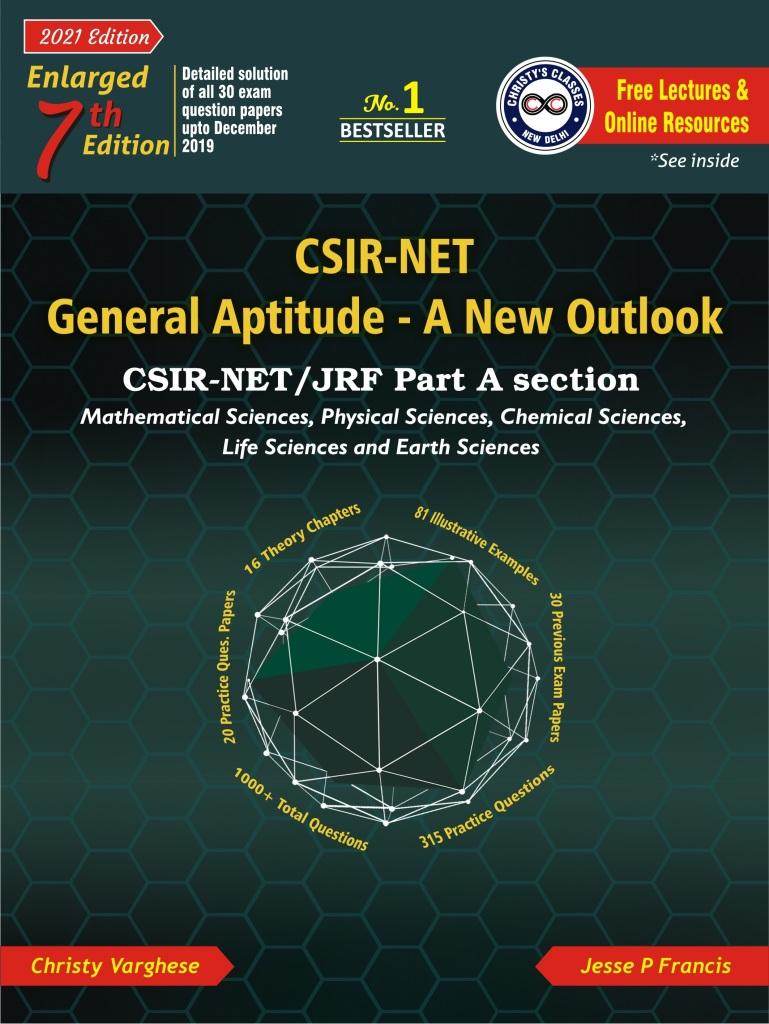 CSIR - NET General Aptitude A New Outlook - Cover